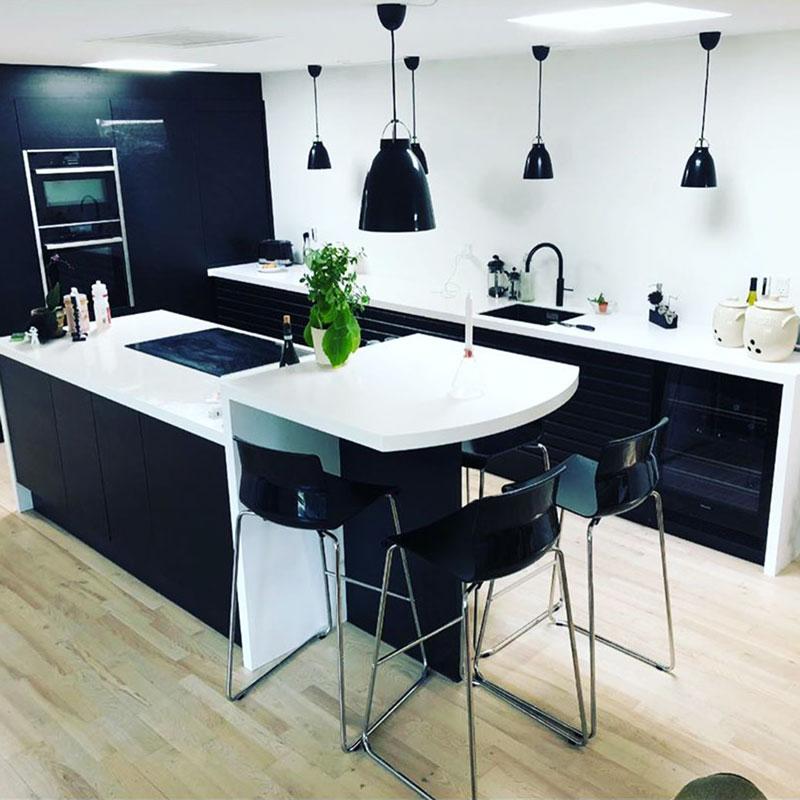 Bordplader i køkken